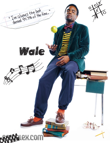 Complex interviews Wale behind the scenes of his photoshoot. He talks ...