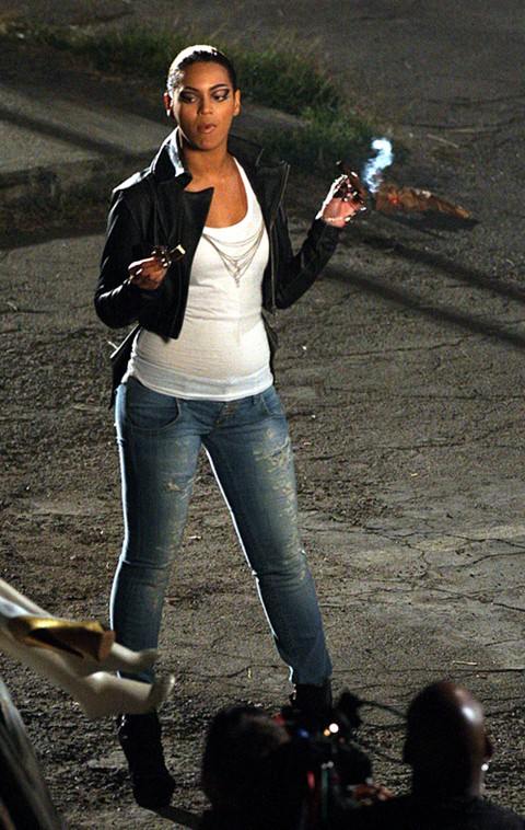 Beyonce pictures from the set of diva the synopsis - Beyonce diva video ...